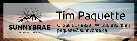 Email Graphics - Tim's Signature